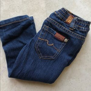 7 for all Mankind toddler skinny jeans 18m